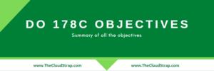 DO178C Objectives