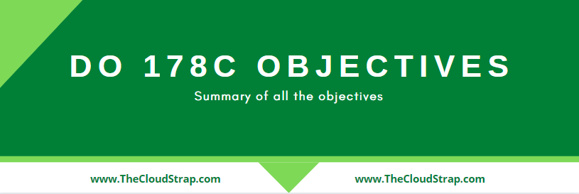 DO-178C Objectives List | Must Read
