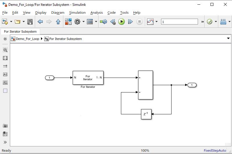Simulink Tutorial Series - 4; For loop in Simulink; For Loop in Simulink Model