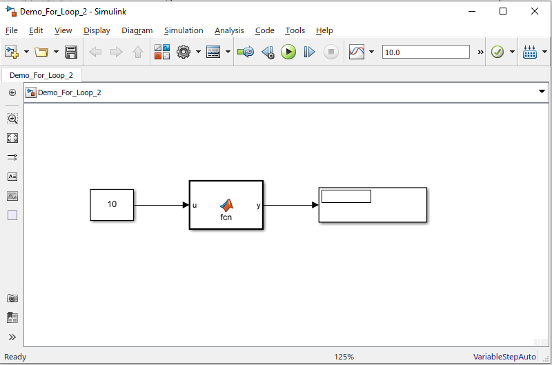 Simulink Tutorial Series - 4; For loop in Simulink; For Loop in Simulink Model; Matlab Function
