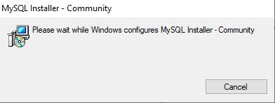 mysql install