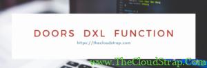 DOORS DXL Function